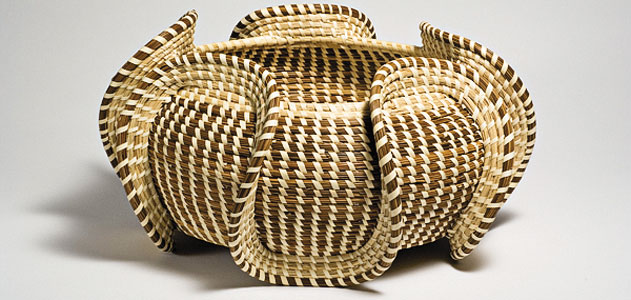How To Weave A Sweetgrass Basket : Weaving camtourventures